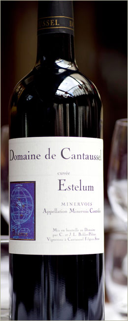 AOC Minervois- Cuvée Estelum 2006